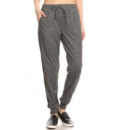 ShoSho Womens Jogger Bottoms Solid Jogger dh Grey
