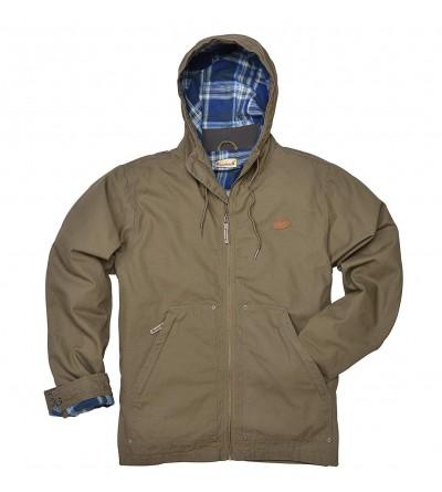 Backpacker Hooded Canvas Jacket