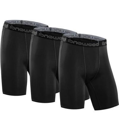 isnowood Mens Performance Compression Shorts