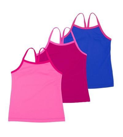 Girls Gymnastics Dancewear 3 Pack Multicolor