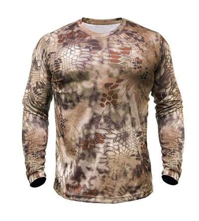 Kryptek Hyperion T Shirt Sleeve Polyester