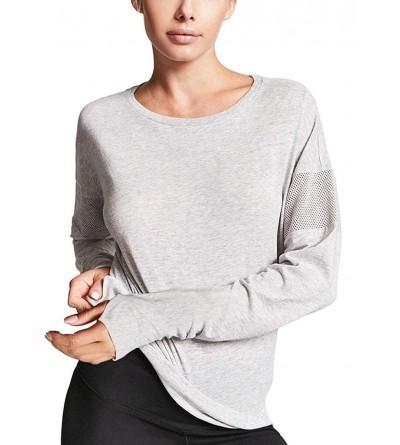 Yucharmyi Womens Sleeve Shoulder T Shirts