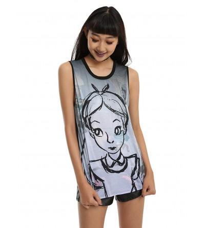 Alice Wonderland Disney Sketch Sublimated