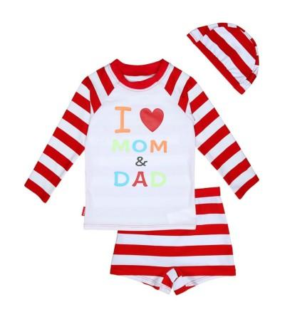 vivobiniya Swimsuit Toddler Bathing Stripe