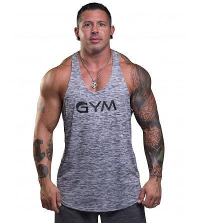 Gym Stringer Bodybuilding Athletic Workout