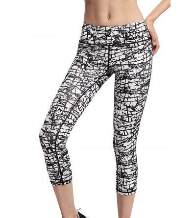 LASHER Activewear Printed Workout Leggings