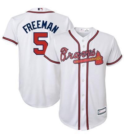 Majestic Freddie Freeman Atlanta Replica