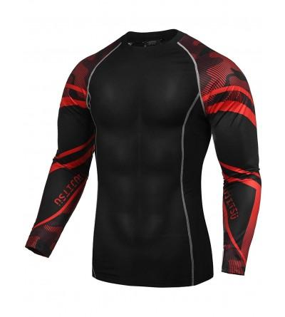 COOFANDY Long Sleeve Compression Shirts T Shirts