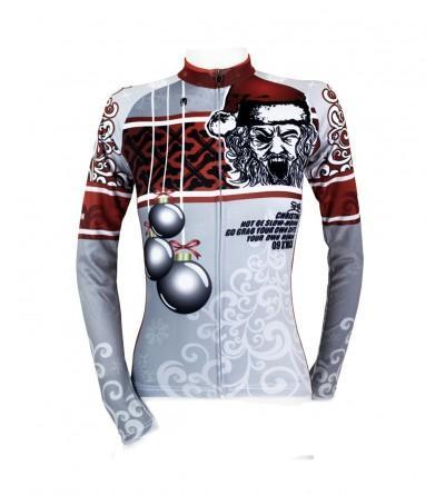 ILPALADINO Cycling Christmas Pattern Jerseys