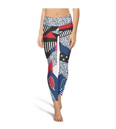 Celeei Lorra Feather Workout Leggings