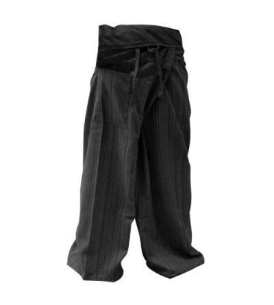 LannaPremium Fisherman Trousers Charcoal kittiya