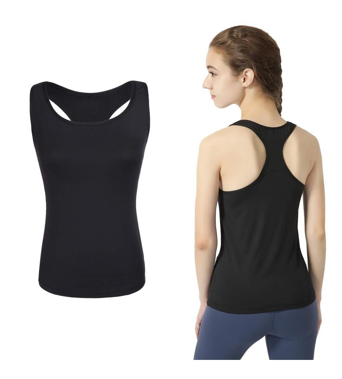 Yoga Sport Tank Top Damen Racerback Lauftop Fitness Running Tr/ägershirt Shirt Oberteile Top Weste Vest Tanktop Sportshirt Trainingsshirt Jogging Laufen