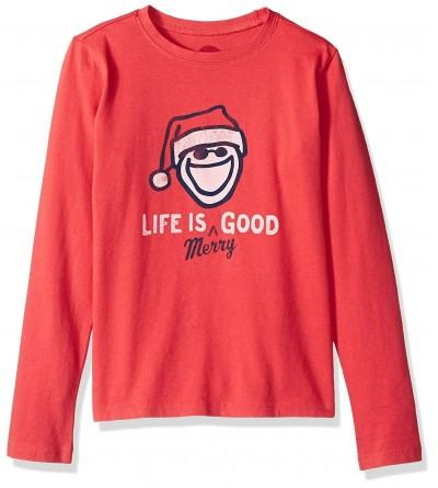 Life Good Crusher Longsleeve Merry