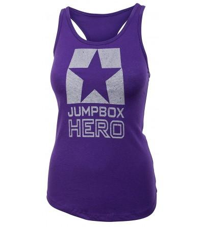 Jumpbox Hero Back Racerback Workout