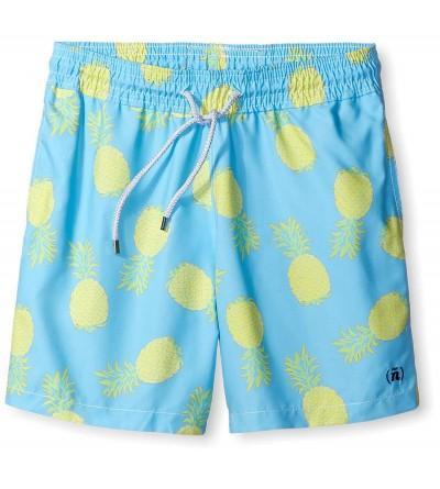 SPENGLISH Mens Pineapple Swim Trunks