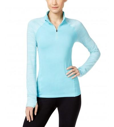 Ideology Womens Quarter Zip Training Top