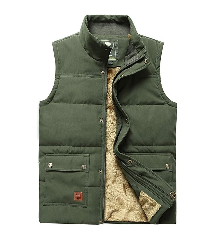 Vcansion Outdoor Collar Fleece Jacket