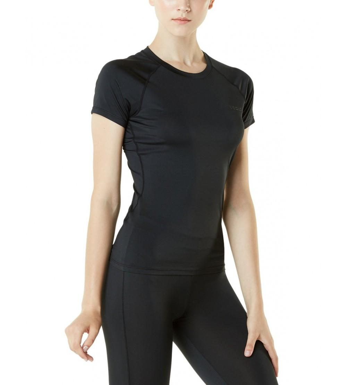 TSLA Womens Compression T Shirts Baselayer