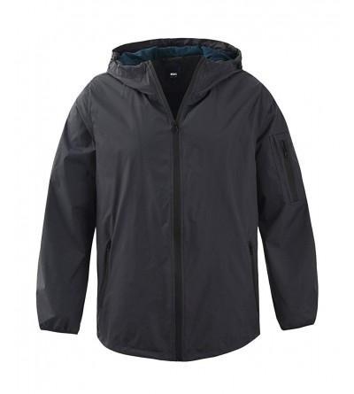 M2C Hooded Front Zip Resistant Lightweight