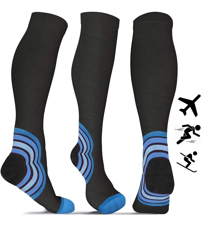 aZengear Flight Socks Women Men