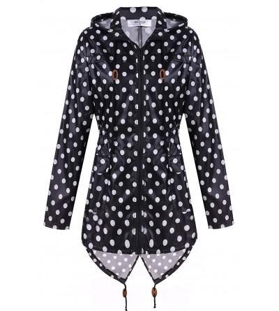 Meaneor Womens Waterproof Raincoat Outdoor