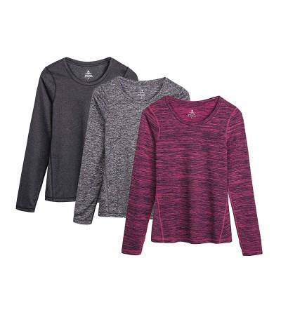 icyzone Womens Workout Sleeve T Shirts