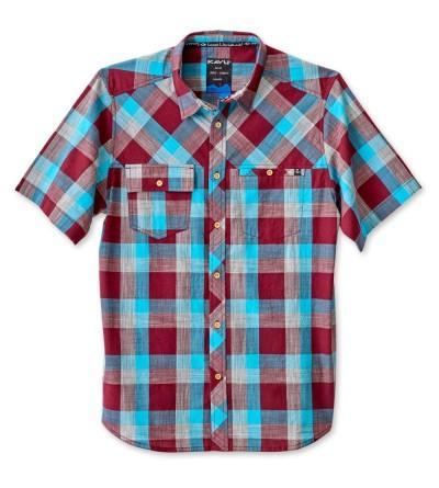 KAVU Mens Pemberton Button Shirts