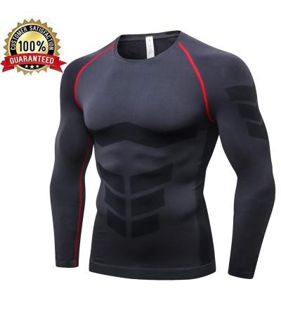 LEICHR Compression T Shirt Baselayer Fitness