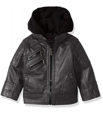 Urban Republic Artsy Leather Jacket