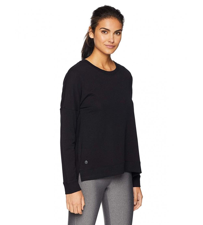 tasc Performance riverwalk Sweatshirt Black
