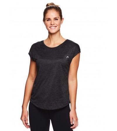 HEAD Womens Short Sleeve Workout