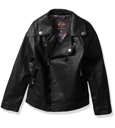 Urban Republic Leather Azymetrical Jacket