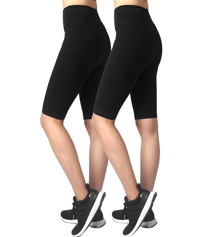 Neonysweets Womens Fitness Shorts Cotton