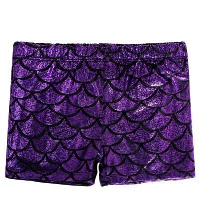 BAOHULU Shorts Sparkle Gymnastics Tumblewear