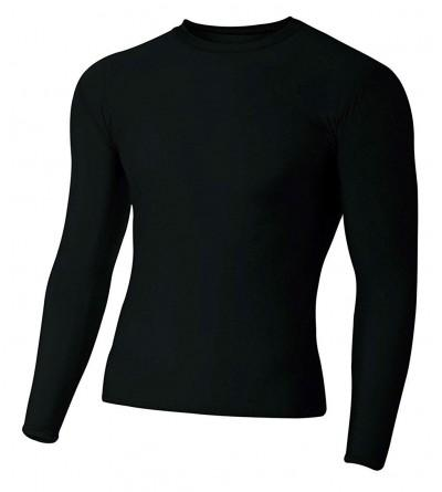 A4 Mens Long Sleeve Compression