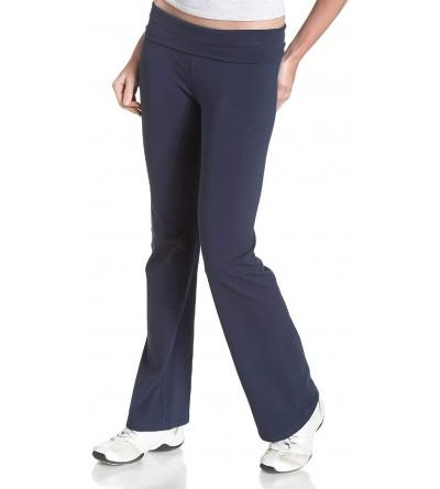 Soffe Womens Yoga Roll top Pant