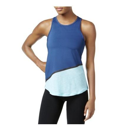 Ideology Womens Colorblock Fitness Tank