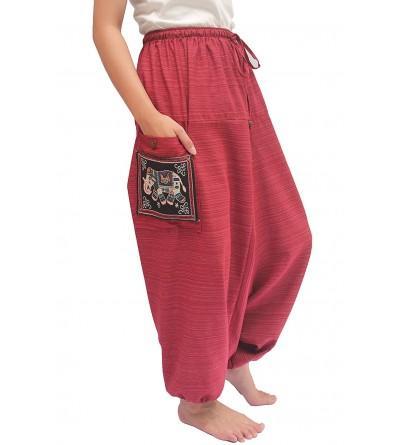 Wynnthaishop ChiangmaiThaiShop Cotton Baggy Aladin
