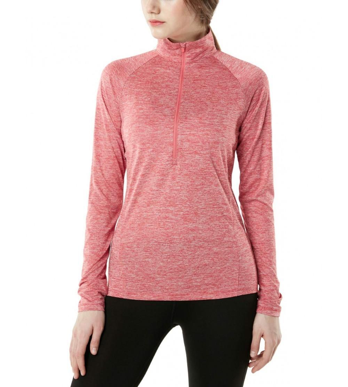 TSLA Womens HyperDri Pullover Running