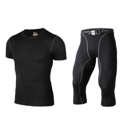 Tesuwel Compression Running Fitness Workout