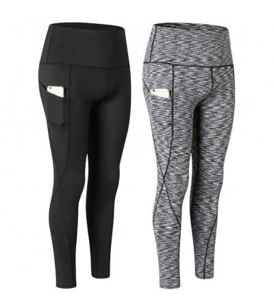 LANBAOSI Pockets Control Workout Leggings