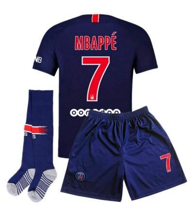 Germain Mbappe Soccer Jersey Shorts