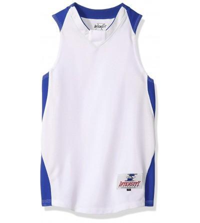 Intensity Youth diamond basketball jersey