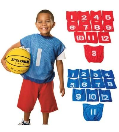 Worldwide Spectrum Youth Numbered Pinnies