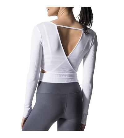 Samtree Womens Backless Stretch Workout
