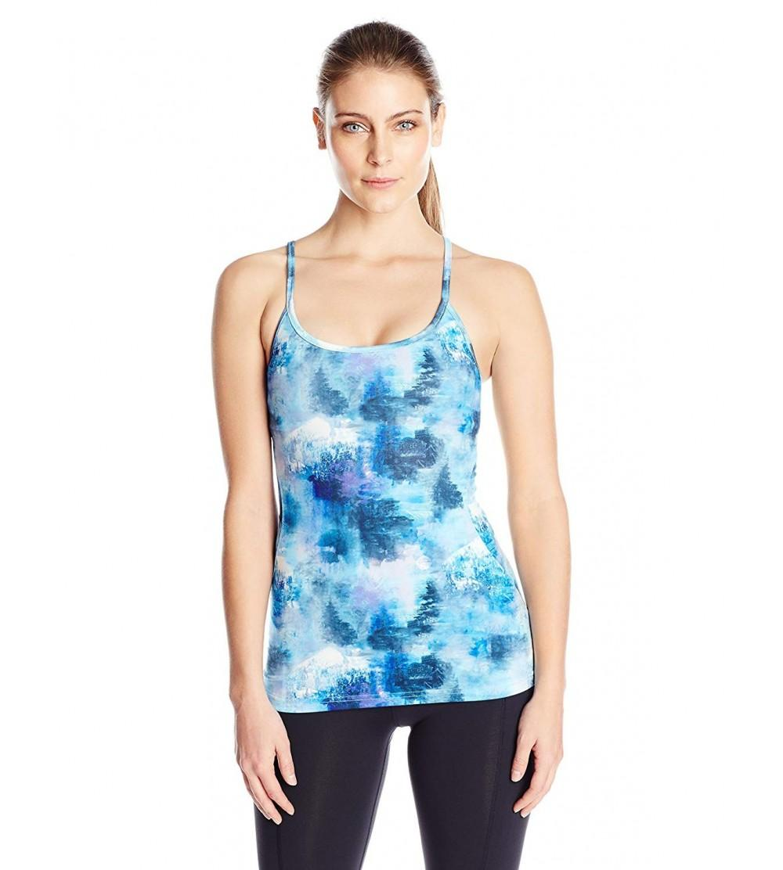 Shape Womens Printed Tank Elastic