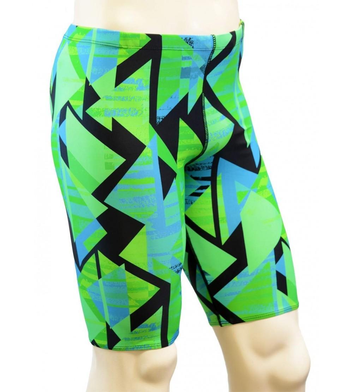 Adoretex Printed Athletic Jammer Swimsuit