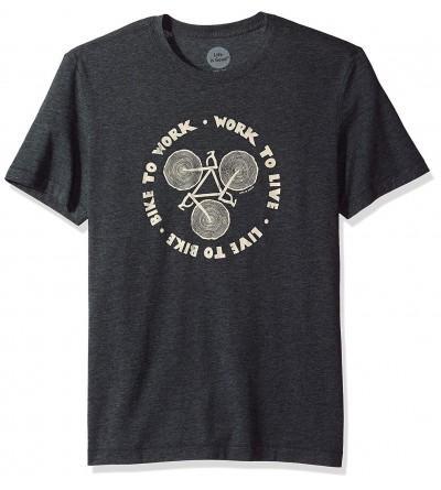 Life Good Mens Ngtblk T Shirt