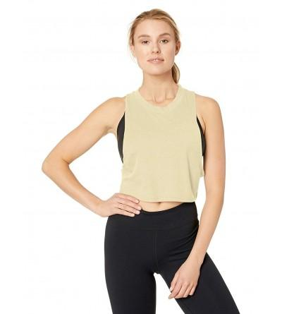 Alo Yoga Womens Heat Wave Crop