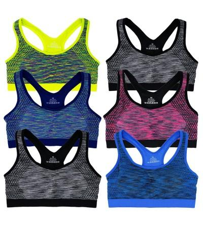 Womens Seamless Racerback Wire Free Removable